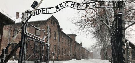 Gedenkfeier in Auschwitz