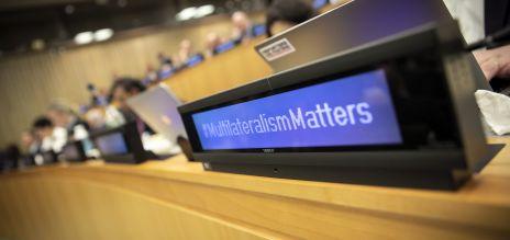 Treffen der Allianz für den Multilateralismus