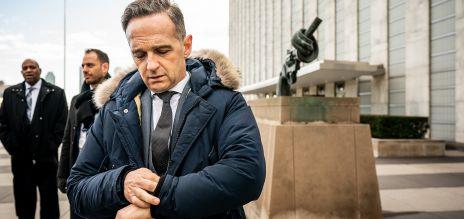 Sicherheitsrat: Maas zieht positive Bilanz