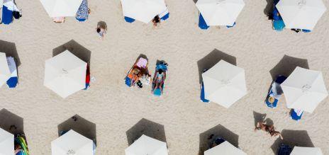 Urlaub am Strand in Coronazeiten