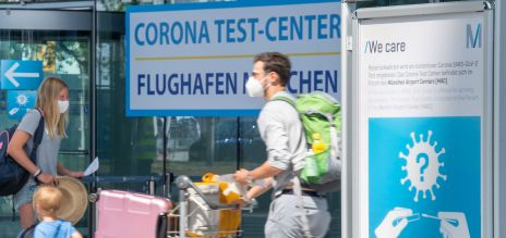 Corona Test Center Airport Munich