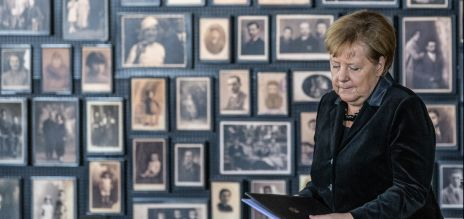Angela Merkel in Auschwitz