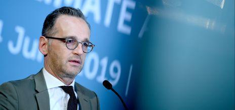 Maas warnt vor Klimawandel