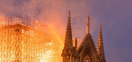 Feuer in Notre Dame