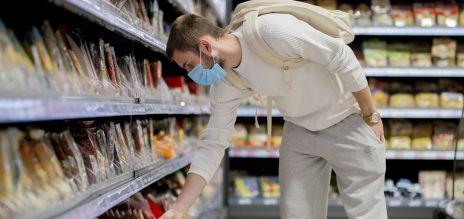 Maskenpflicht im Supermarkt