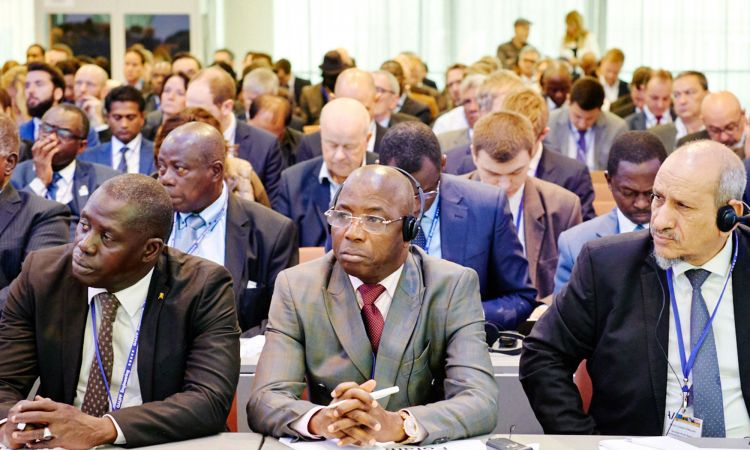 Scene from the 2019 German-African Energy Forum