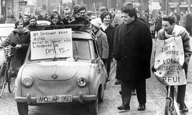 1968 in Germany: triggers and ...