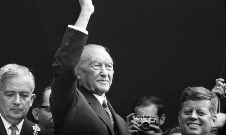Konrad Adenauer Chancellor of the Federal Republic of Germany