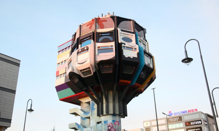 """Bierpinsel"" in Berlin-Steglitz"