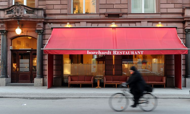 Top address: Restaurant Borchardt