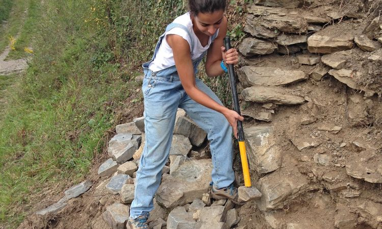 European Heritage Volunteers: Mariana Lopes Martinho