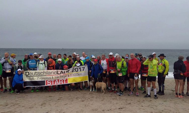 65 runners started in Sylt