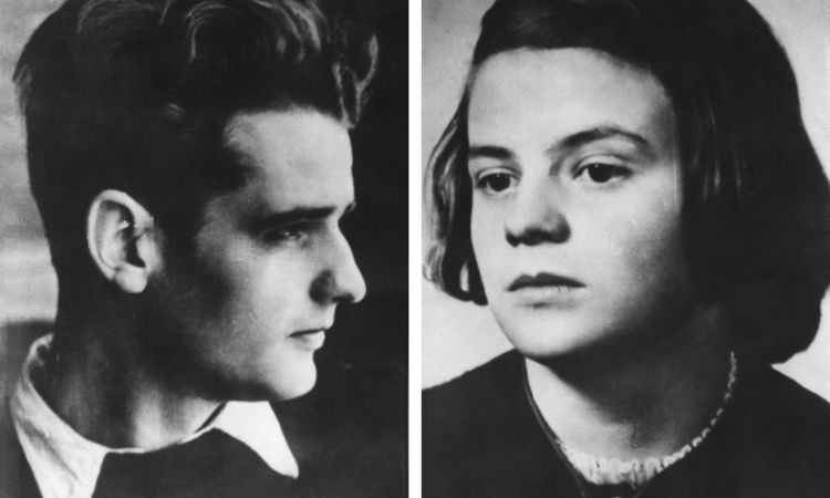 Hans and Sophie Scholl