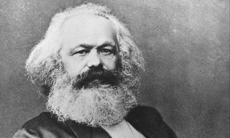 An icon for many: Karl Marx on a portrait painted around 1880.