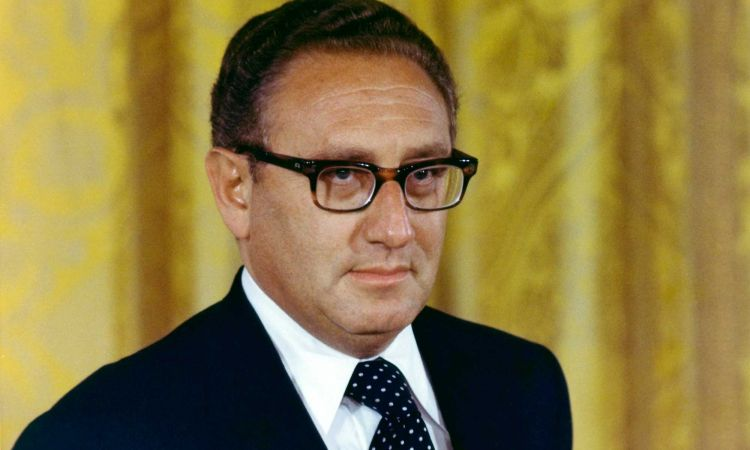 Henry Kissinger American Secretary of State and National Security Advisor