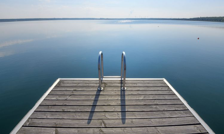 Jetty at Gräbendorfer Lake