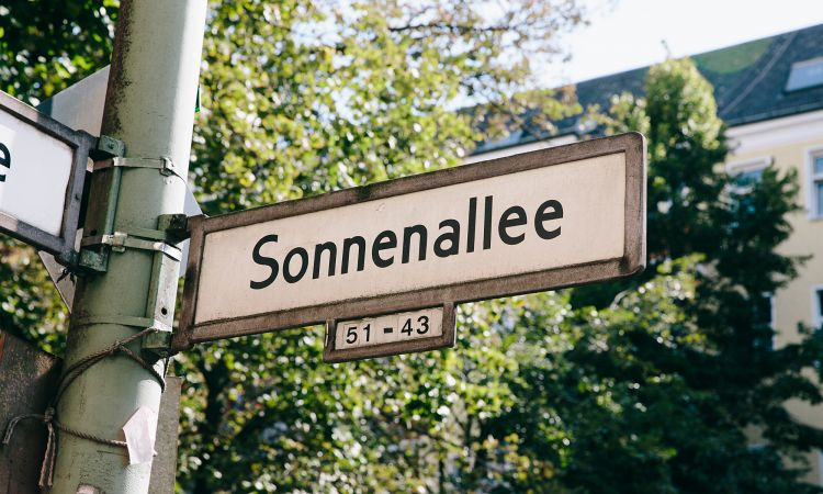 Sonnenallee in Berlin