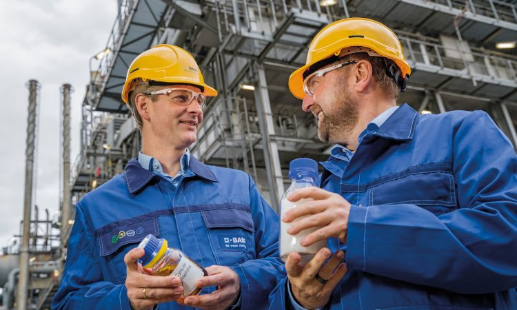 BASF employees involved in ChemCycling
