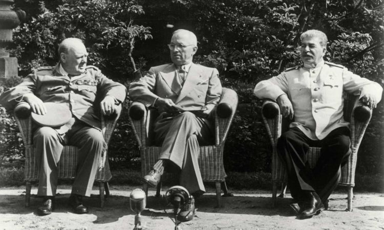 Potsdam Conference from 17 July until 2 August 1945