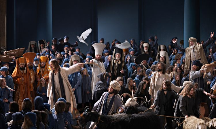 A scene from the Passion Play