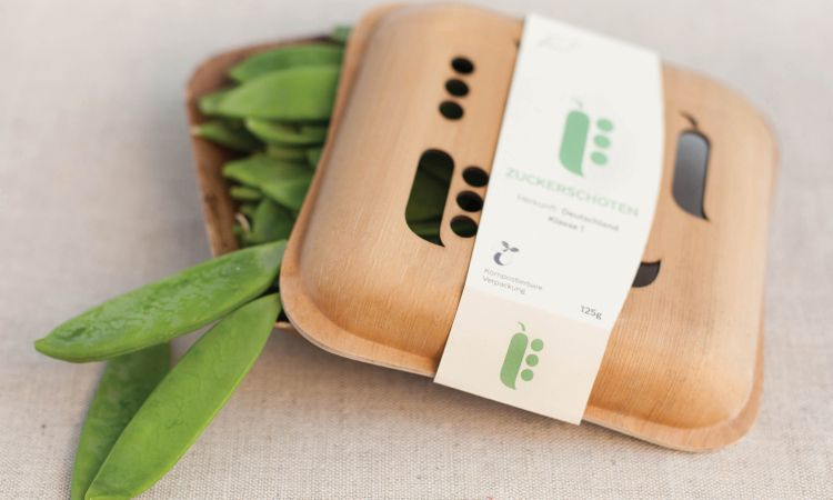 The product: attractive and easily compostable packaging