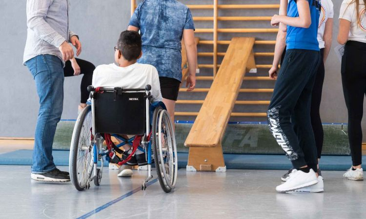 Inclusion during PE lessons