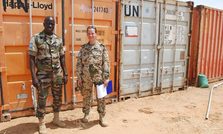 Around 3,500 German security forces are working for the UN – here in Sudan.