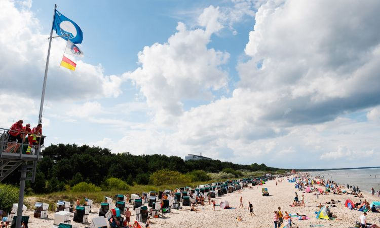 Baltic Sea beach at Usedom