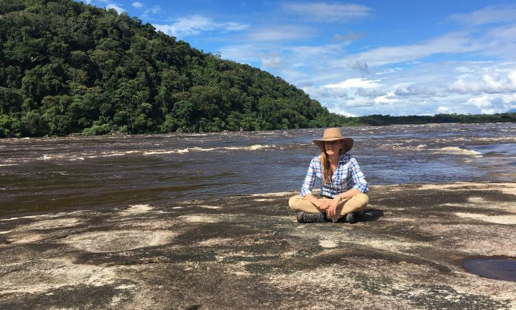 Stopover at the Maipures Rapids on the Orinoco