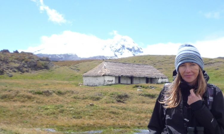 Andrea Wulf follows in Humboldt's footsteps on Antisana in Ecuador