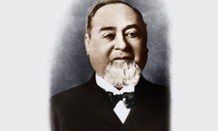 Levi Strauss around 1880.