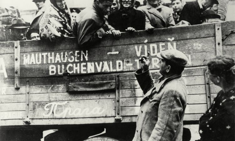 Liberation of Buchenwald concentration camp