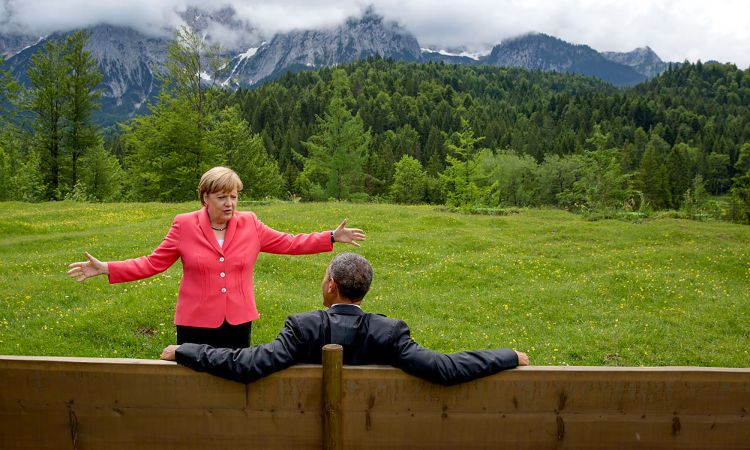 G7 Summit at Schloss Elmau