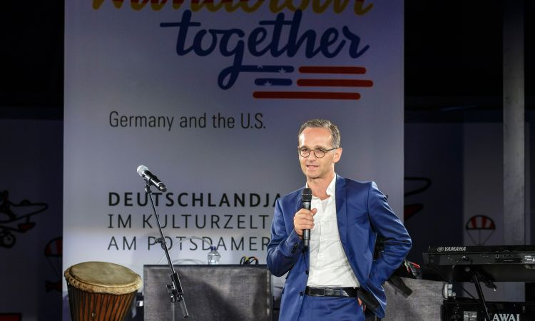 Breathing new life into transatlantic relations: Federal Foreign Minister Heiko Maas at the launch of the programme for the  Year of German-American Friendship in the USA.