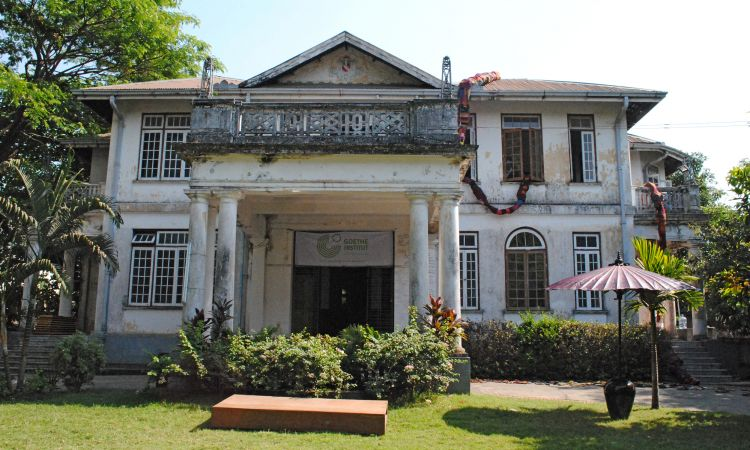 The Goethe-Institut in Myanmar before its renovation