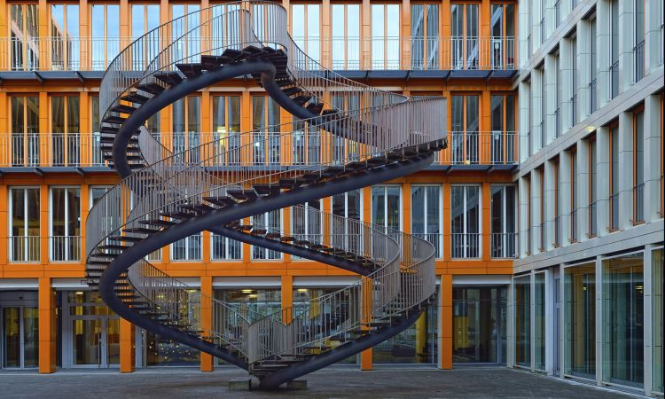 Staircase in Munich