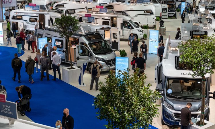 Motorhomes are more popular in Germany than ever before – trade show in Düsseldorf.