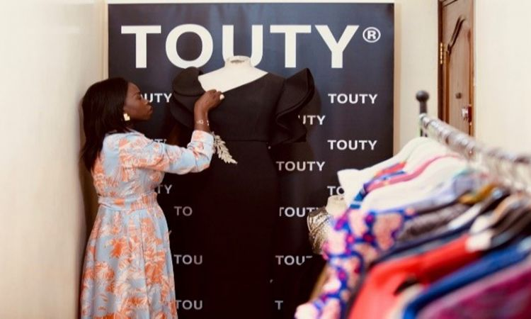 Touty has opened her own tailor shop in Senegal.