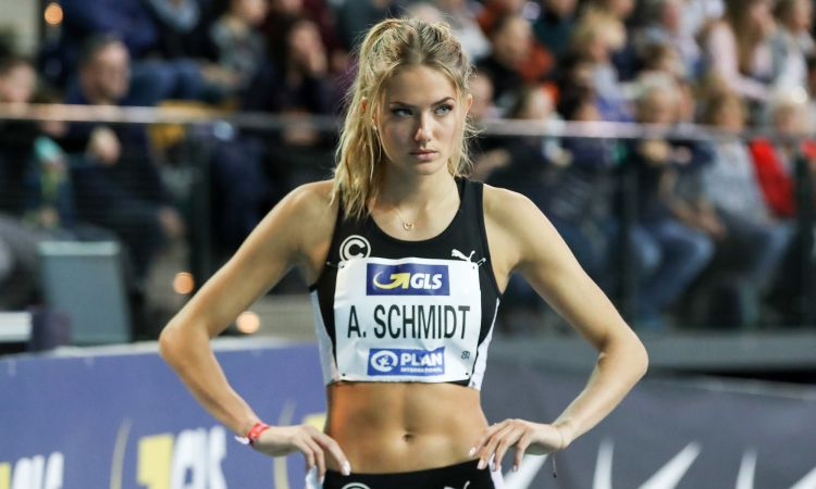 The track-and-field athlete Alica Schmidt