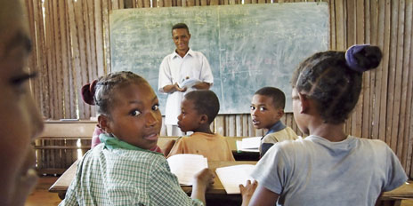School in Madagascar